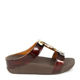 FINO DRAGONFLY SLIDE MARRON